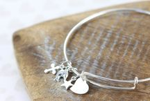 Personalized Bracelets / Personalized Bracelets Engraved or Hand Stamped Fashion Accessories