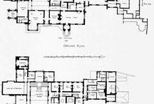 English Estate Floor Plans