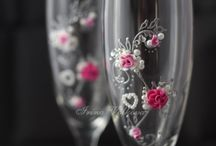 Wedding flutes / My shop