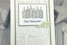 stampin up advent