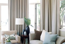 Brown, Gray & Blue Rooms