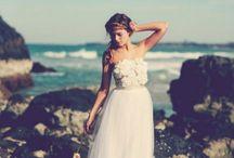 Vestido de noiva havaiano