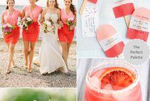Bruiloft kleurenpalet ideeën