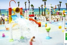 Aqualand / Kid's water park located on property at the Holiday Inn Resort in Panama City Beach! Auqaland is the number one spot for kids to play while parents relax!