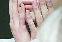 Wonho's hands