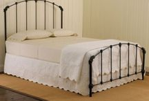 Iron Beds & Shabby Chic Decor / by Angie K. Tolison