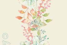 Acuarelas · Watercolors / by Eva Quevedo Ruiz (Aveziur)
