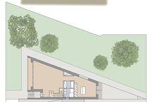 La dimensione alterata - Residenze ristrette / Studi architettonici in lotti di dimensioni infelici o interclusi.