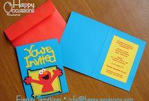 Invitaciones estilo Scrapbooking