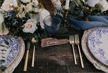 Wedding Color Palette: Copper + Peacock