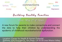 Connections / Connections is a monthly meeting to connect families with each other and with valuable resources on a variety of family-friendly topics. Natural and biomedical resources for families dealing with Autism, ADD/ADHD, Epilepsy, Sensory Processing Disorder, Allergies, Asthma and Executive Functioning Disorder, among many other topics will be presented and shared.