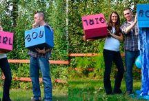 Seleção_Anunciando o sexo do bebê / Uma seleção de fotos inspiradoras que foram selecionadas para compartilhar no BLOG Memórias e Retalhos. (www.memoriaseretalhos.com.br)