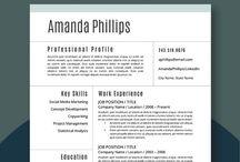 Resumes and job tips