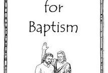 Prepare for baptism