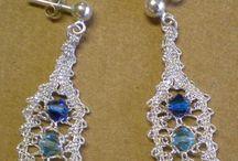 Kniplede smykker