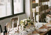 tablescapes / by Amelia Larsen / Colour Bloc