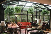 Giardino d'inverno/verrière / Giardini d'inverno, spazi vetrati