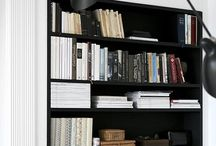{HOME} Book Shelves / by When Less is More