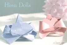 雛、折り紙