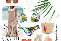 Bikinis and Swimsuits / Summer 2017
