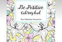 Be Positive Coloring book