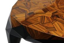 Interior design inspirations and materials