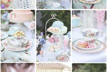 Secret garden and Tea party