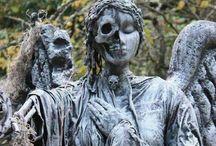 Mistika / Странные картинки о странных вещах и местах. Могилы, чудовища, привидения, сны...