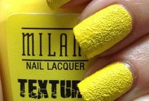Loves - Textured Nails / Textured nails are where it's at and here are a few of our favourites.