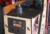 Vintage Arcade Machines