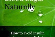 High cholesterol and blood sugar