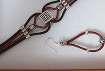 pulseras mujer cuero