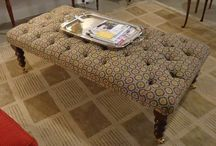 Benches and Ottomans @Galerie_M / Timeless, multi-functional beauty