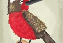 Pájaros chilenos