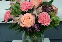 From Our Own Floral Designers / Mount Williams Greenhouses exclusive floral arrangements, custom designed for the shop.