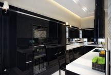 Next House Build / Ideas for our next build -  colours, textures, light fittings, kitchen