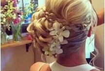 wedding hair / hairstyles / by Camille Gontarek