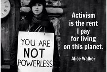 Activism / All things activism