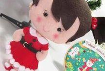 Boneca de Natal