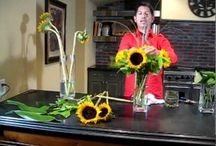 Sunflowers / Inspiration for using centerpieces in your home or event!