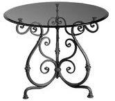 Wrought Iron Table Base / wrought iron table base