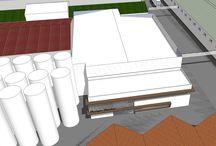 Ampliación Bodegas Yuntero / Tekton ha sido adjudicataria para las obras de ampliación de Bodegas Yuntero, consistentes en la construcción de una nave industrial con una superficie de 3.000 m2 y compuesta por pórticos armados atornillados de 35 mts de luz libre y cerramientos a base de panel sándwich liso. www.tekton.es