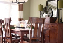 Delightful Dining Rooms / We love the design of these dining rooms