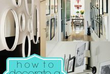 Decorating a Hallway or Stairway / How to decorate a hallway or stairway