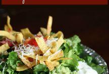 yummm....Cafe Rio Sweet Pork Salad