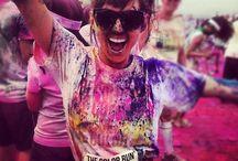 Pop color run / Course avec peinture
