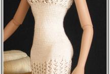 barbie doll knitting