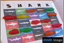 Grant's Shark Party!