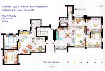 Famous Floor Plans & Houses / Be inspired by the floors plan and houses of your favourite characters, TV Shows and Movies