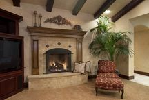 Fireplaces / When you build a custom home with MDD, you have a lot of options!  Here are some fireplaces we have done in the past!